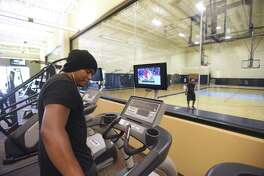A fitness center, like this one at the CentroMed Health and Wellness facility on Commercial Avenue, will be part of the new CentroMed center that will be built at Old Pearsall Road and Ray Ellison Drive on the Southwest Side. On Tuesday, Baptist Health Foundation of San Antonio announced a $600,000 grant for the new center.