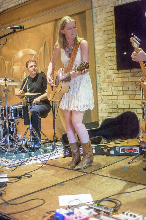 "Indie folk-country singer and songwriter Rachel Laven played Blue Star Brewing Co. Saturday, July 10, 2016, following the release of her new album  ""Love & Luccheses."" Photo: MySA.com"