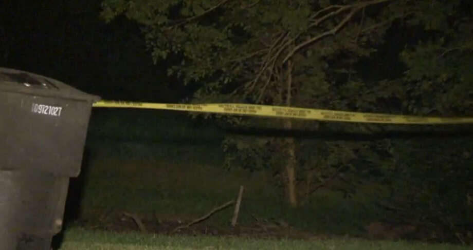 A 39-year-old man was shot to death about 9 p.m. Sunday July 10, 2016, as he was fishing in Halls Bayou in the 7700 block of Bretshire in northeast Houston (Metro Video). Photo: Metro Video