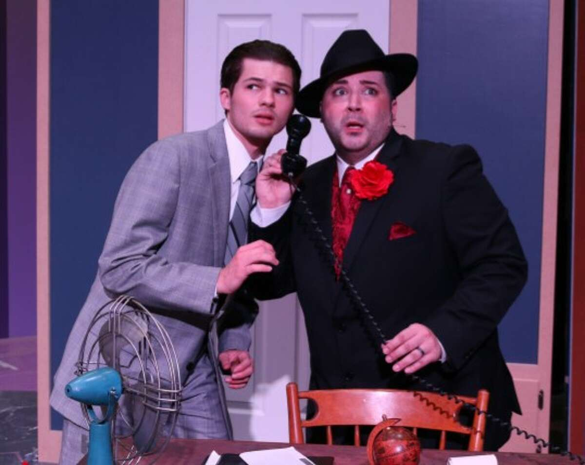 """The City of Deer Park's Art Park Players are presenting """"The Producers"""" this month with a cast that includes Chad Fontenot, left, as Leo Bloom and Chad McCallon as Max Bialystok."""
