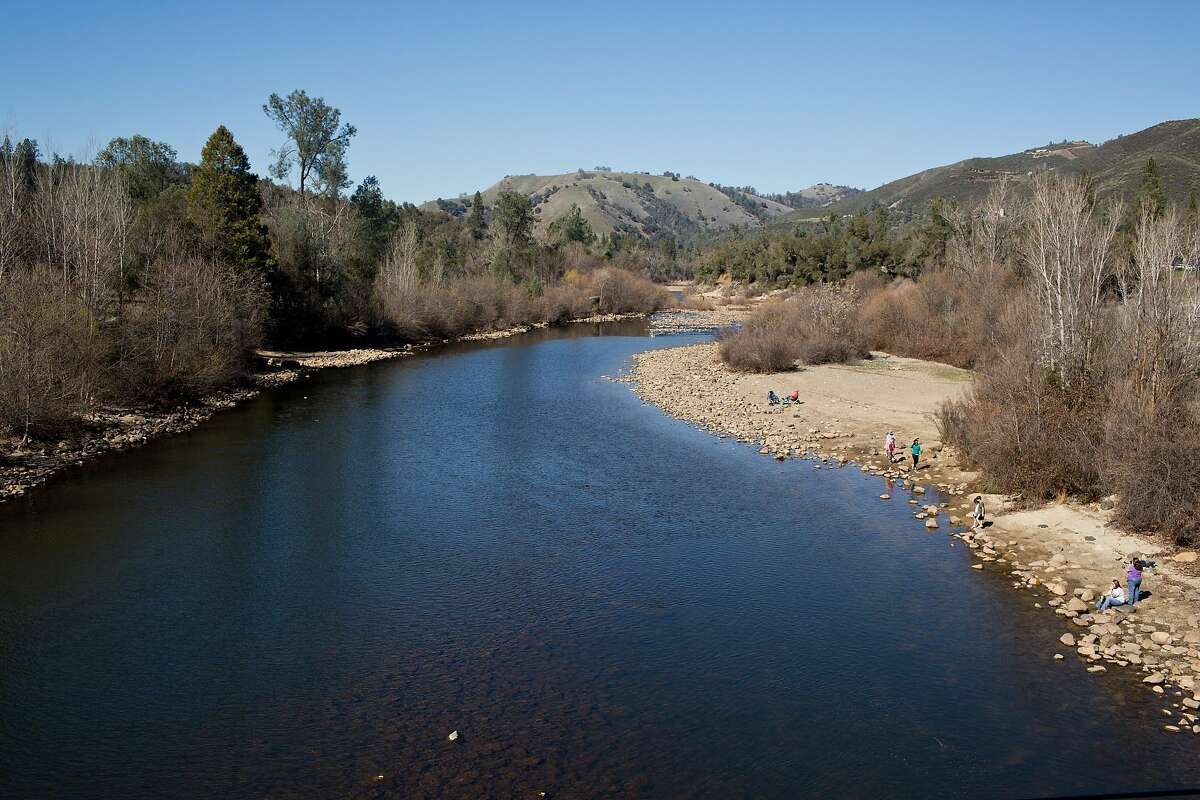 The American River at the Marshal Gold Discovery State Historic Park in Coloma, Calif., Saturday, February 21, 2014.