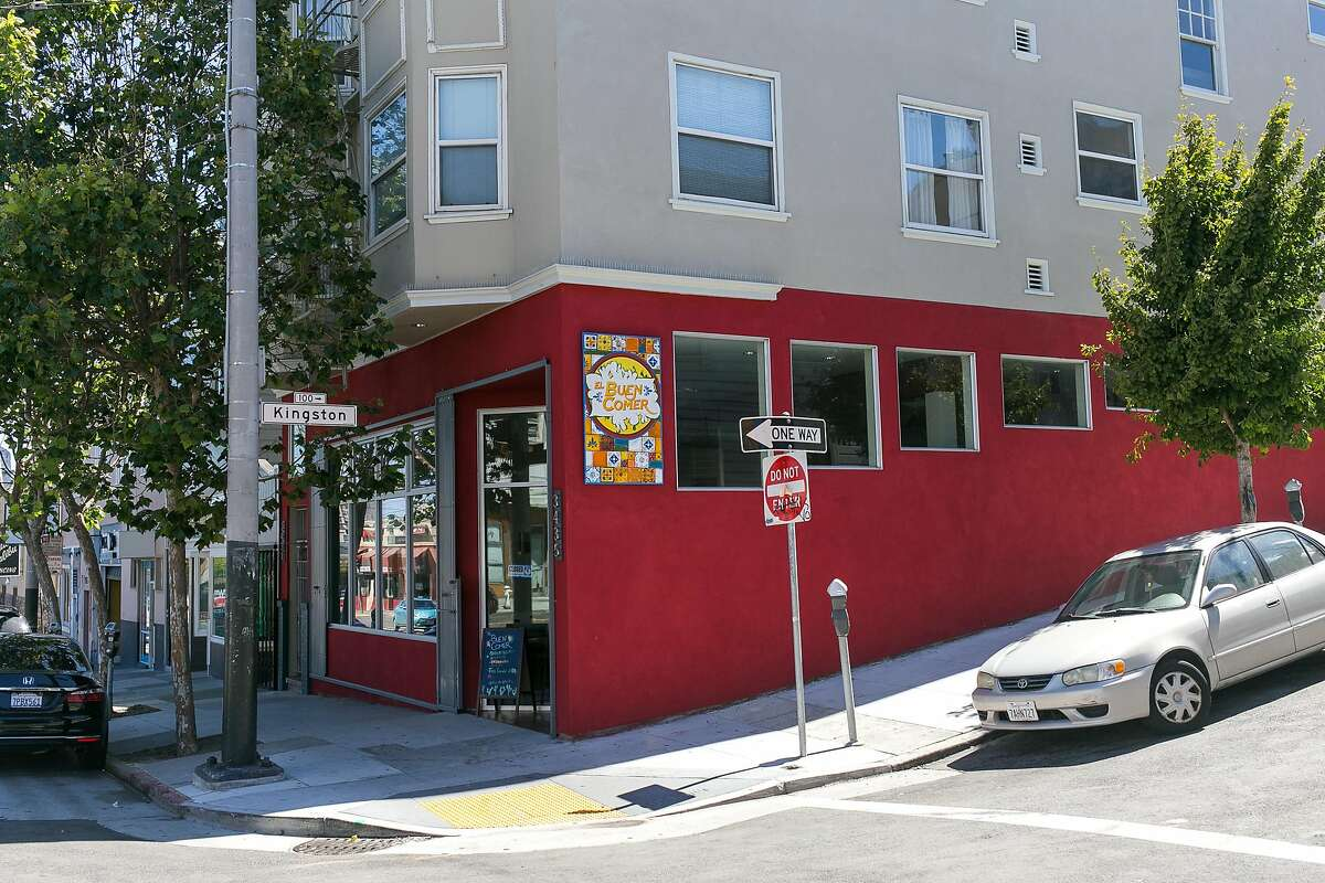 El Buen Comer is on Kinsgton and 19th Street in the Mission District of S.F.