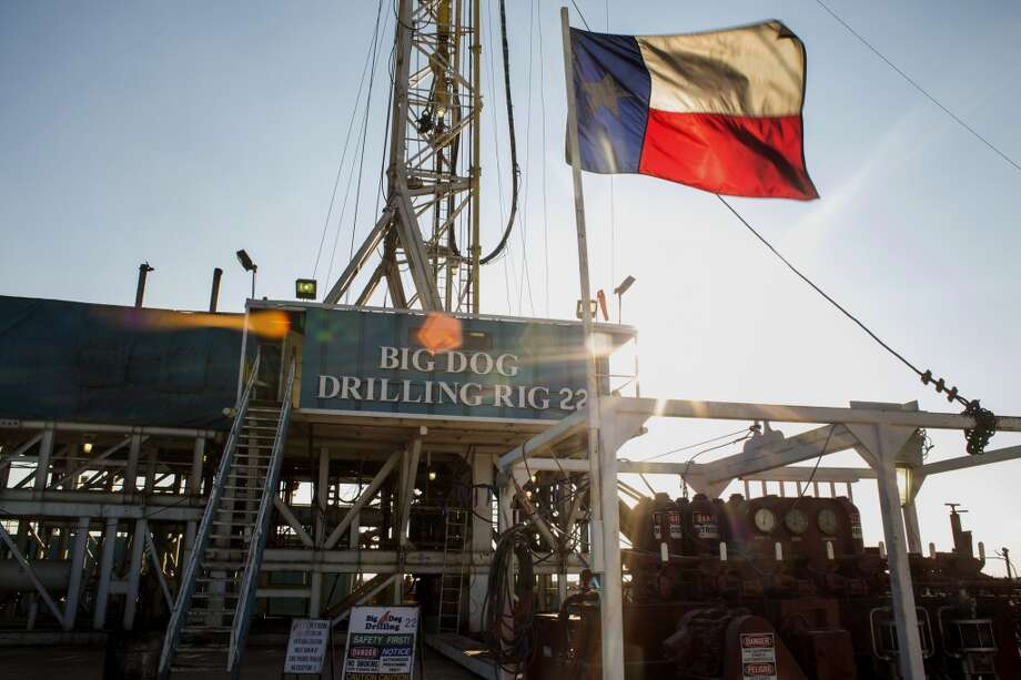 1. U.S. 14 million bbl/dayThe Texas flag flies at Endeavor Energy Resources Big Dog Drilling Rig 22 in the Permian basin outside of Midland. Photo: Brittany Sowacke, Bloomberg