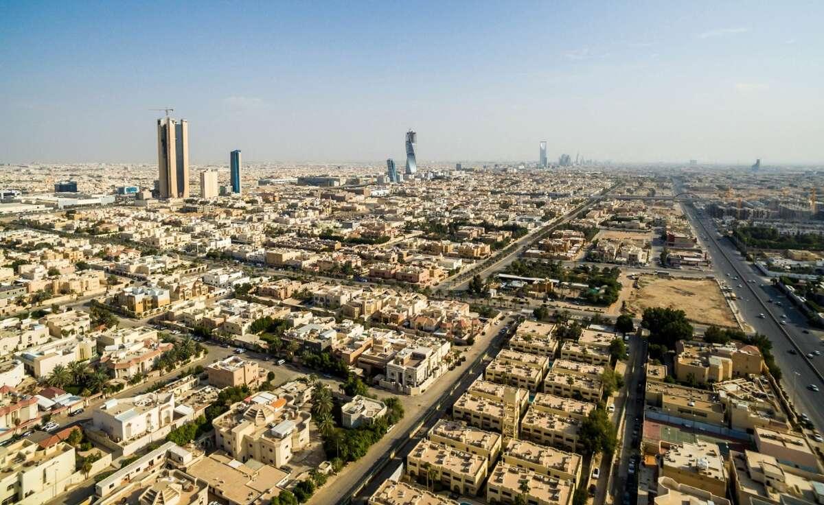 2. Saudi Arabia 11.6 million bbl/day The skyline of Riyadh, Saudi Arabia.