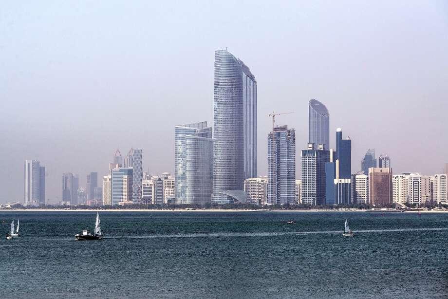 The city skyline of Abu Dhabi, United Arab Emirates. Photo: Alex Atack, Bloomberg