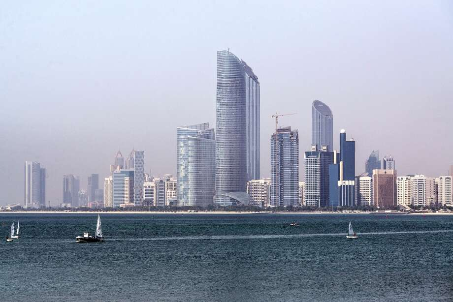 The city skyline of Abu Dhabi, United Arab Emirates. Photo: Alex Atack, Bloomberg