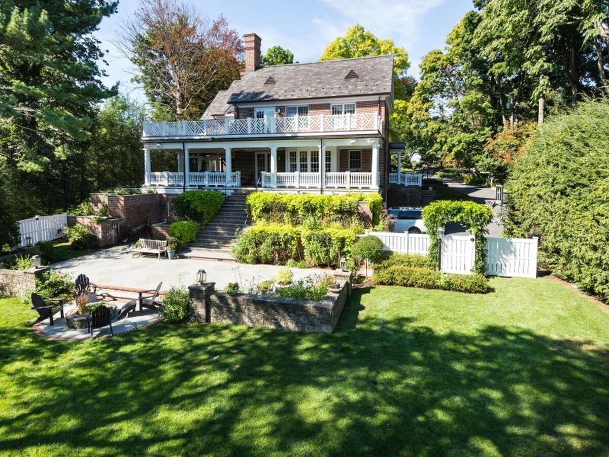 Georgian 77 Maple Ave, Greenwich, CT 06830 6 beds 8 baths 6,180 sqft Features: Outdoor terraces and courtyards. A wide center entrance hall is flanked by living and dining rooms, both with fireplaces View full listing on Zillow