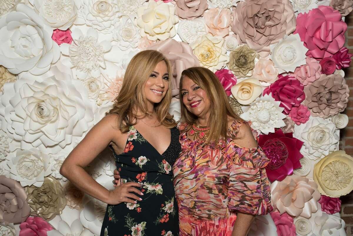 Yvonne Guidry with her mother Maria Antonieta Garza