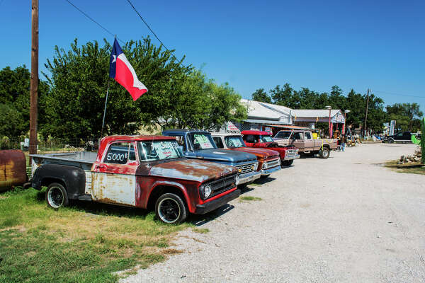 Adamsville, TX  Photographer Walter Las travels the back roads of Texas to capture the essence of old towns and forgotten places across the state.