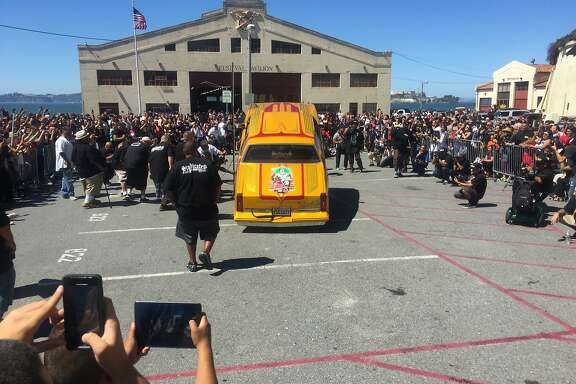Exquisitely detailed low-riders drew fans to King of the Streets at Fort Mason over the weekend.