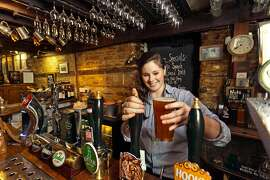 Head to a historic British pub to make friends with a bartender and get a glimpse � and a taste � of traditional English culture.