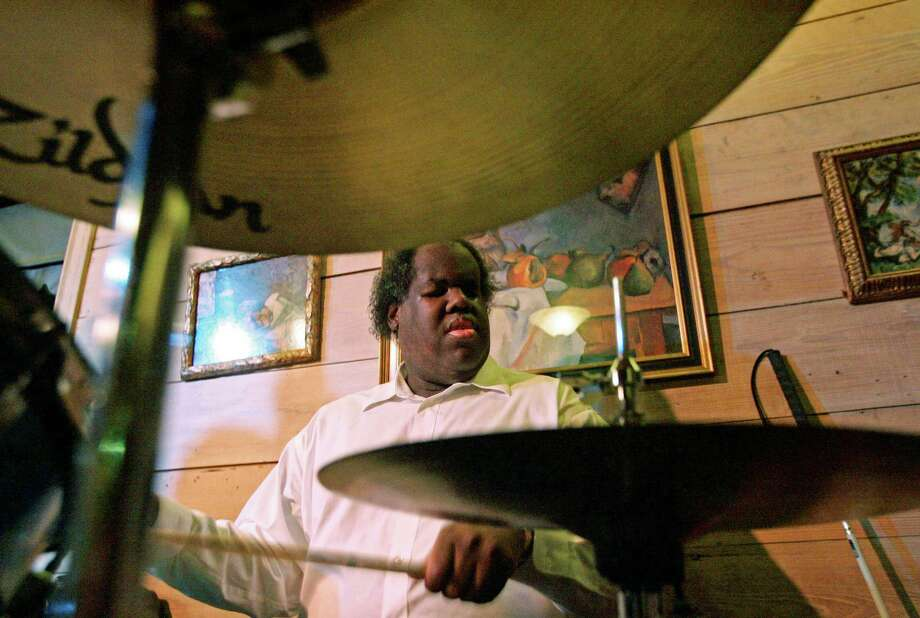 Sebastian Whittaker on drums. Photo: Craig H. Hartley, Freelance / Freelance
