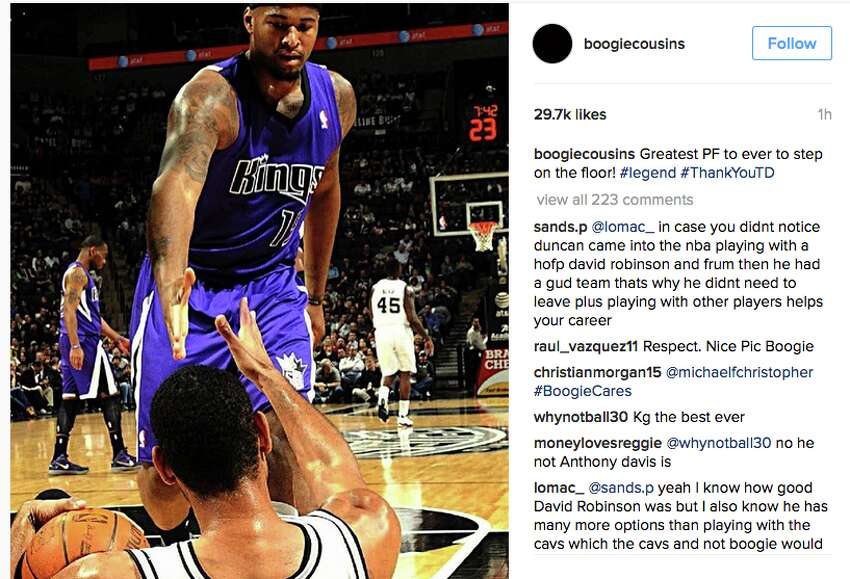Players react to Tim Duncan's retirement