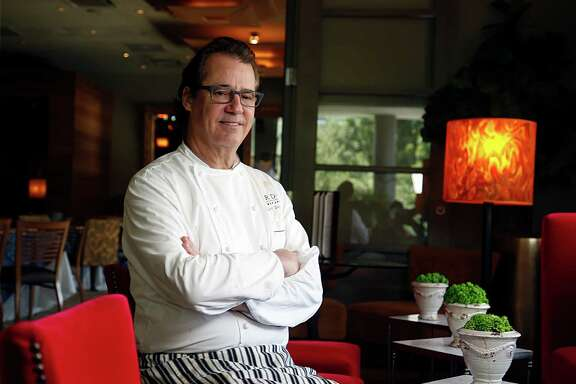 Cafe Annie Texas Cuisine Chef / Owner Robert Del Grande poses for a portrait July 7, 2016, in Houston.  ( James Nielsen / Houston Chronicle )