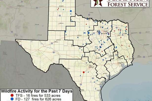 Triple digit temperatures are increasing the threat and prevalence of wildfires in South Central Texas.