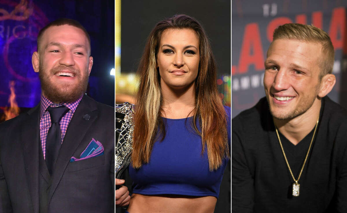 KEEP CLICKING TO SEE WHAT UFC FIGHTERS LOOK LIKE IN AND OUT OF THE RING.
