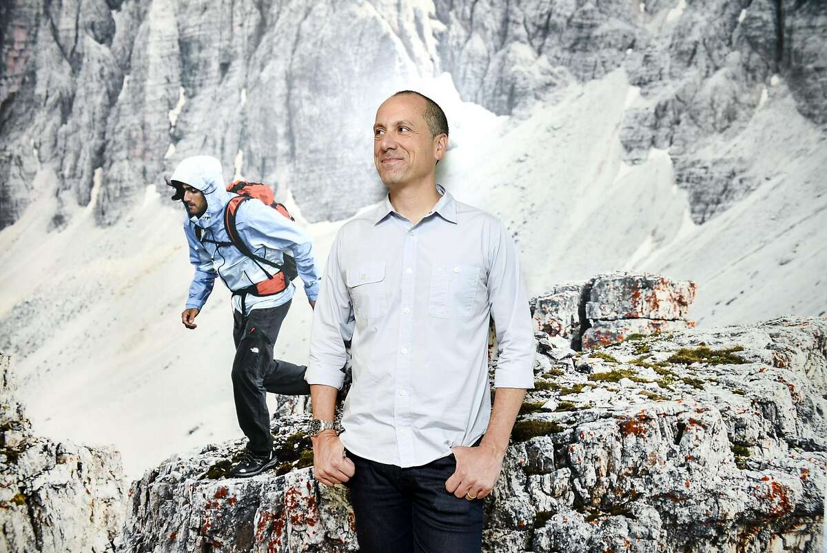 Todd Spaletto, president of The North Face, poses for a portrait at the company's headquarters in Alameda, Calif., on Monday, July 11, 2016.