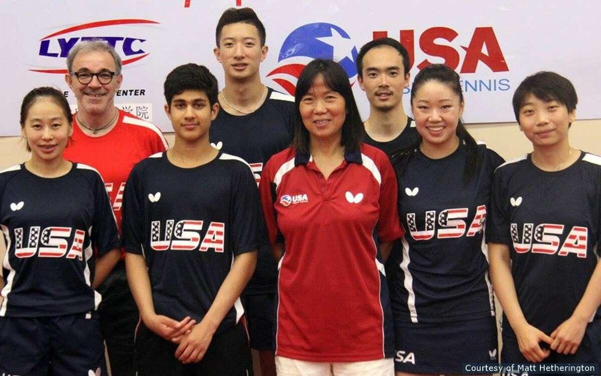 Front row (left to right): Jiaqi Zheng, Kanak Jha, Lily Yip, Lily Zhang, Yue