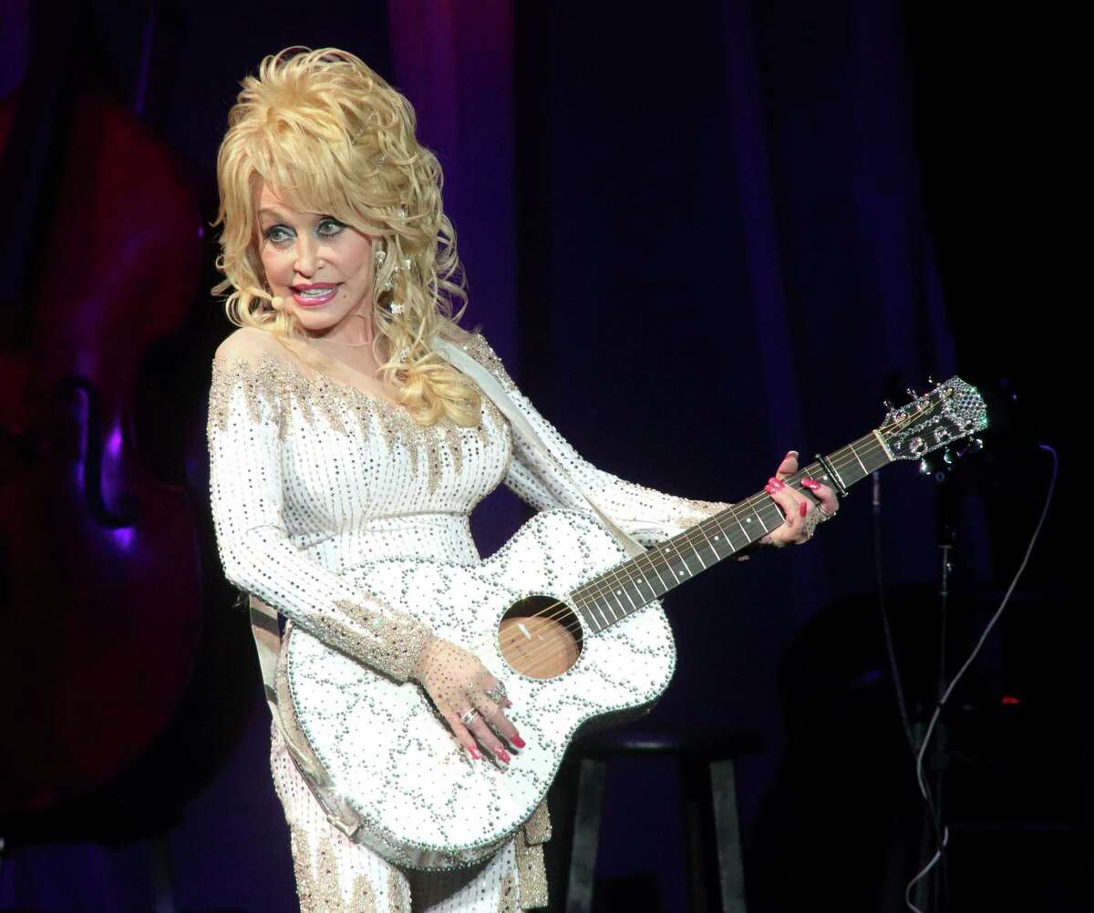 Dolly Parton in concert at The Mann Center for the Performing Arts on June 15, 2016 in Philadelphia, Pa.