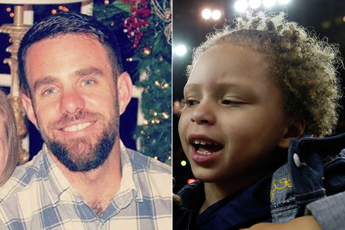 Nashville man Riley Curry (left) and Stephen Curry's daughter Riley.