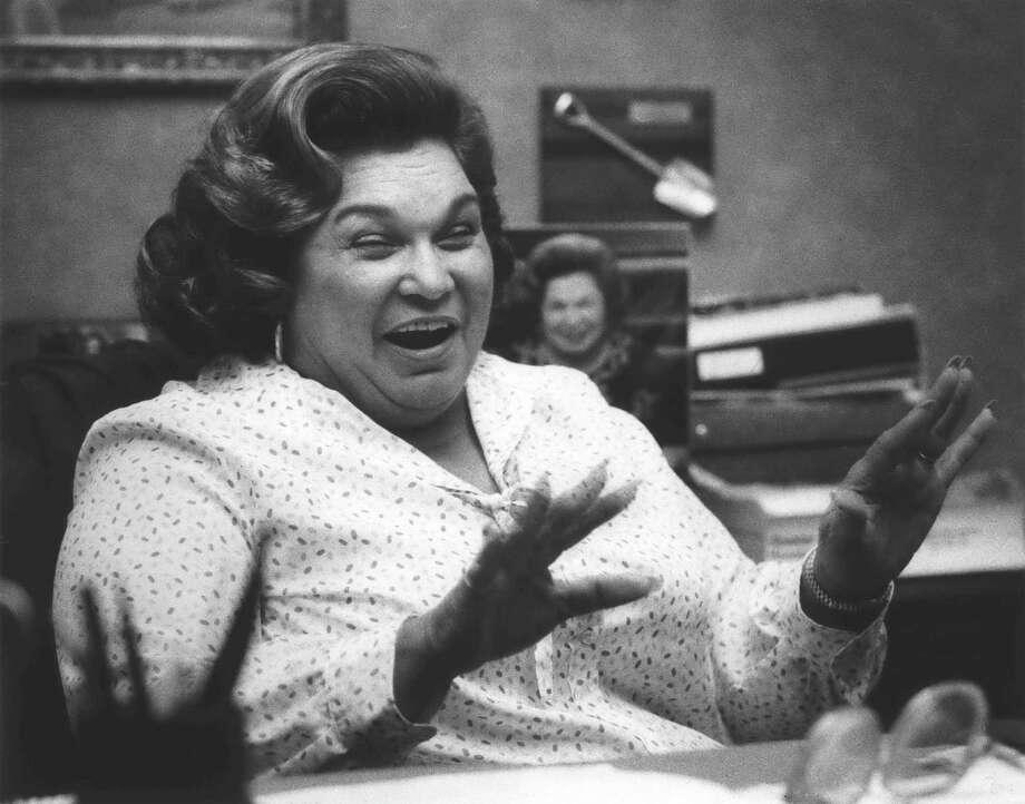 "Restaurateur Ninfa Laurenzo (aka ""Mama Ninfa"") was just one of the women who helped shaped Houston's restaurant scene. KEEP CLICKING FOR MORE HOUSTON RESTAURANT MATRIARCHS. Photo: Curtis McGee, HC Staff / Houston Chronicle"