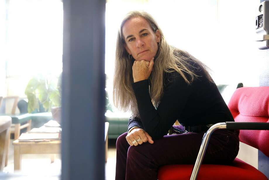 """Tonya Chaffee, a pediatrician who works with at-risk teenagers, some of whom are sex-trafficking victims, at San Francisco General Hospital says, """"A lot of kids at risk have a history of abuse, of unstable housing. A huge driver for all of this trafficking is poverty."""" Photo: Scott Strazzante, The Chronicle"""