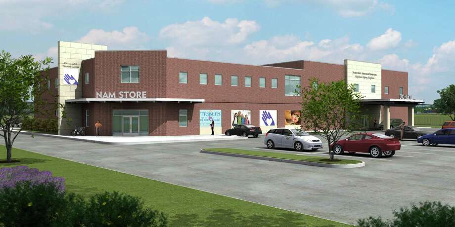 A rendering shows the Northwest Assistance Ministries Retail and Training Center, which also will include a permanent location for the resale shop.