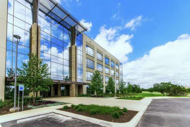 A real estate investment trust from Atlanta has purchased the upscale $57 million WestRidge office buildings next to Shops at La Cantera — one of the biggest commercial transactions in San Antonio this year.