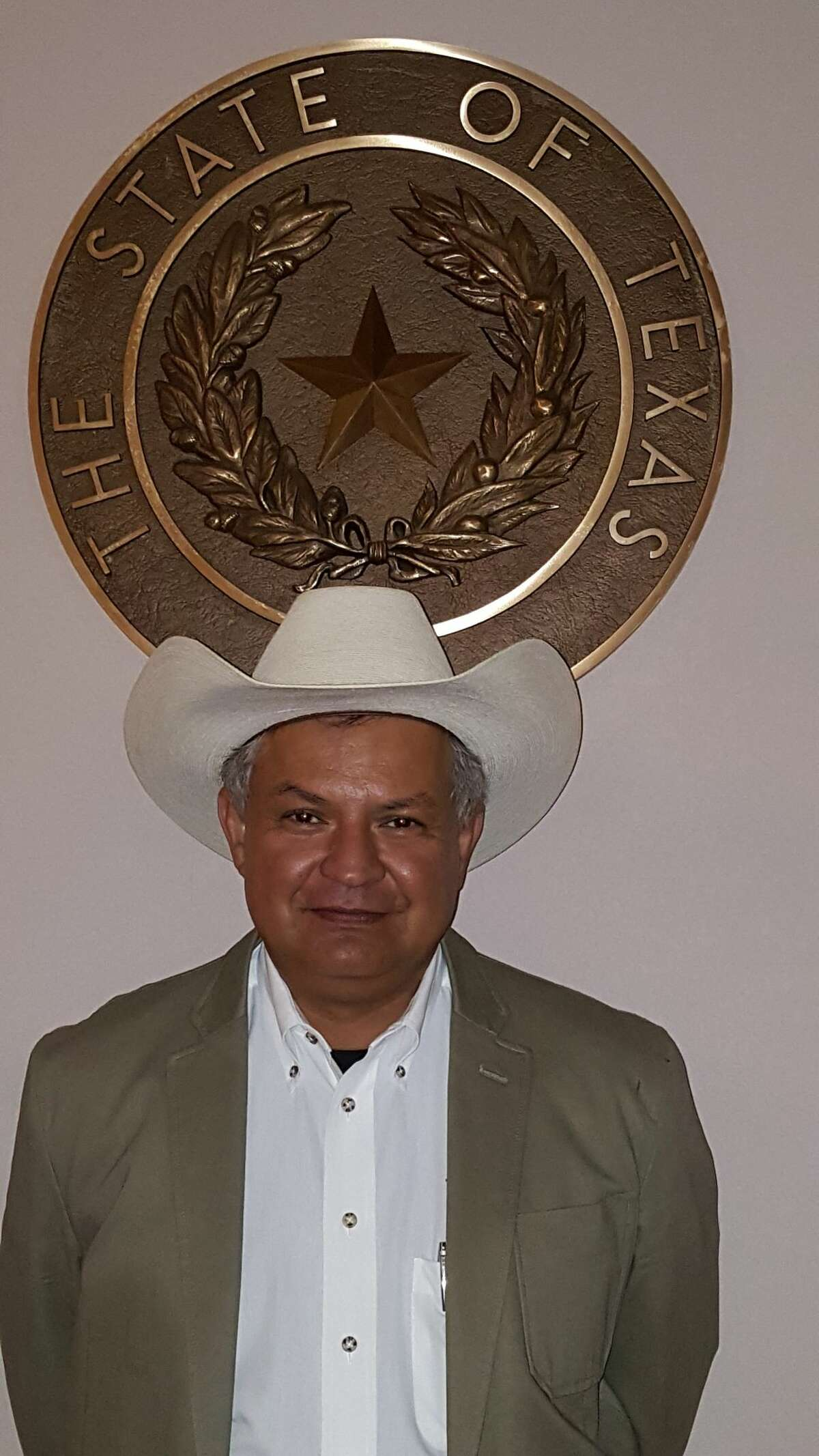 Eusevio Salinas Jr. is a Zavala County Sheriff who maintains an office in Crystal City.