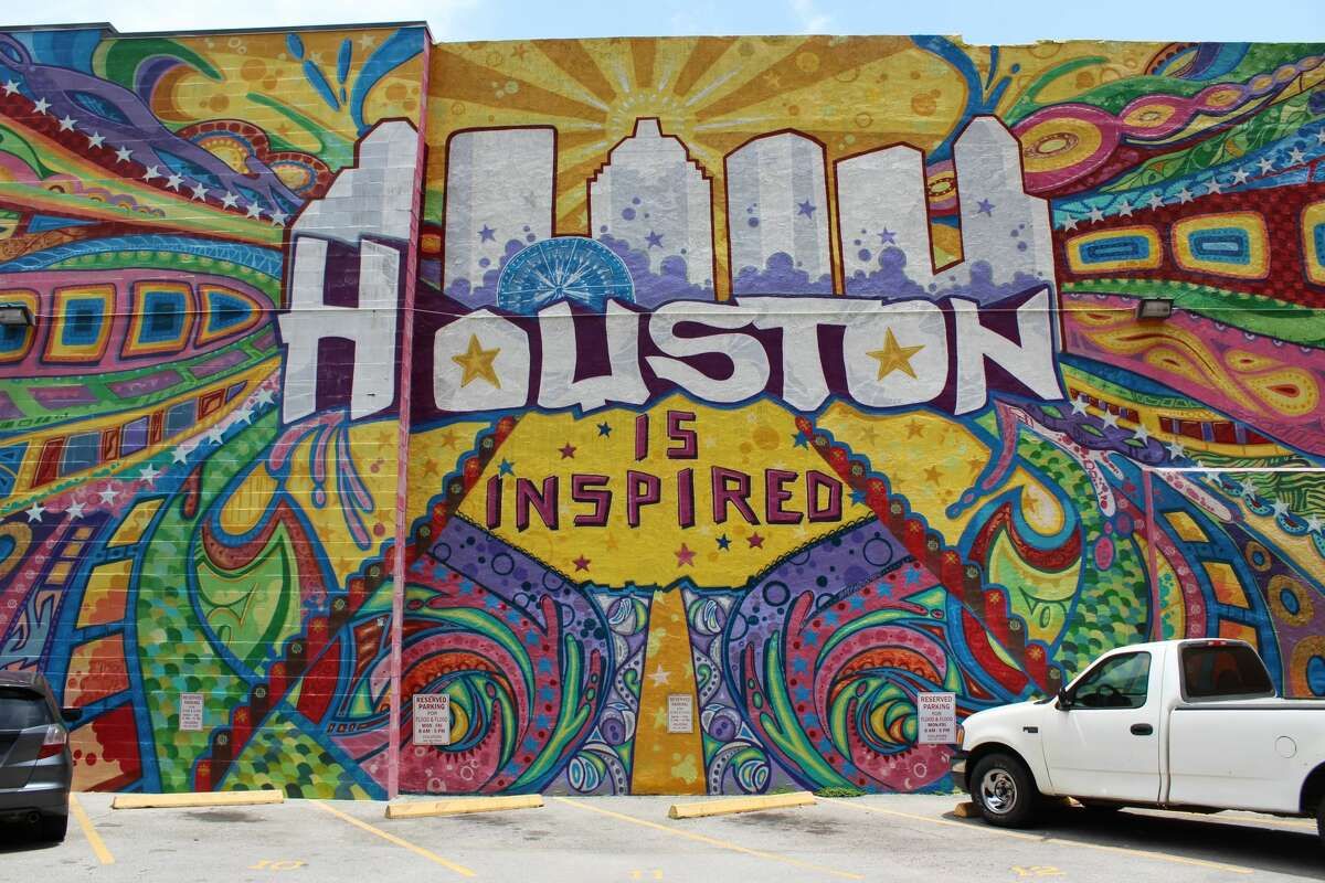 Check out Houston's vibrant street-art scene. STREET ART: Travis at Preston