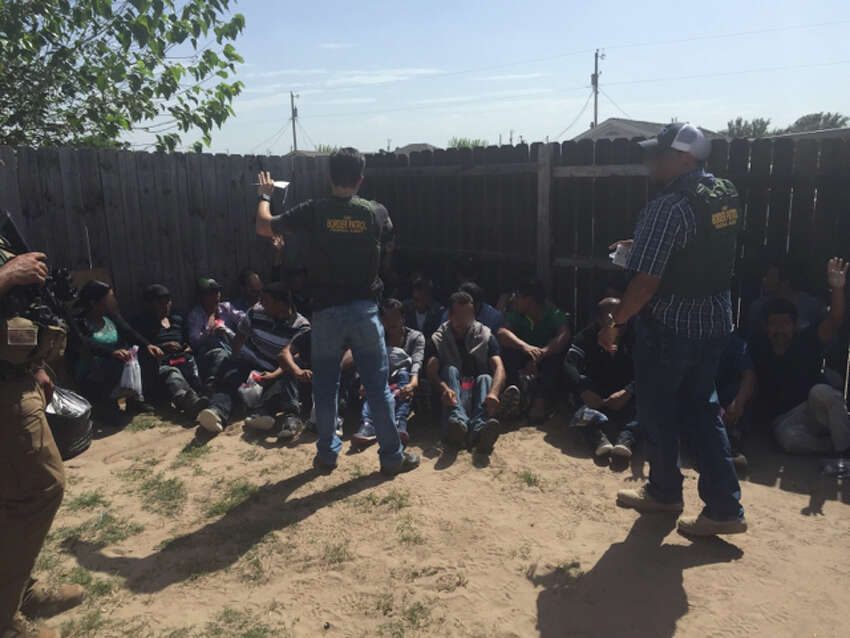 One juvenile and 35 adults were detained following the discovery of a stash house in Edinburg.