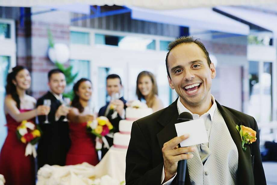 A Dear Abby reader wonders when the best man's speech turned into a roast. Photo: Ned Frisk, Getty Images/Blend Images