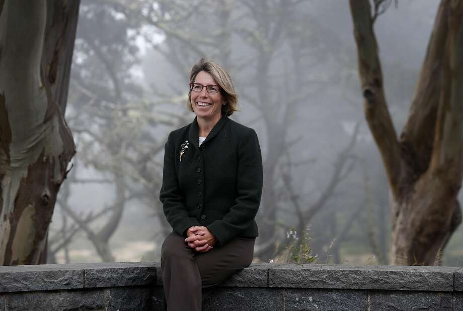 Jean Fraser is seen at the Presidio in San Francisco, Calif. on Tuesday, July 12, 2016. Fraser has been named the new CEO of the Presidio Trust. Photo: Paul Chinn, The Chronicle