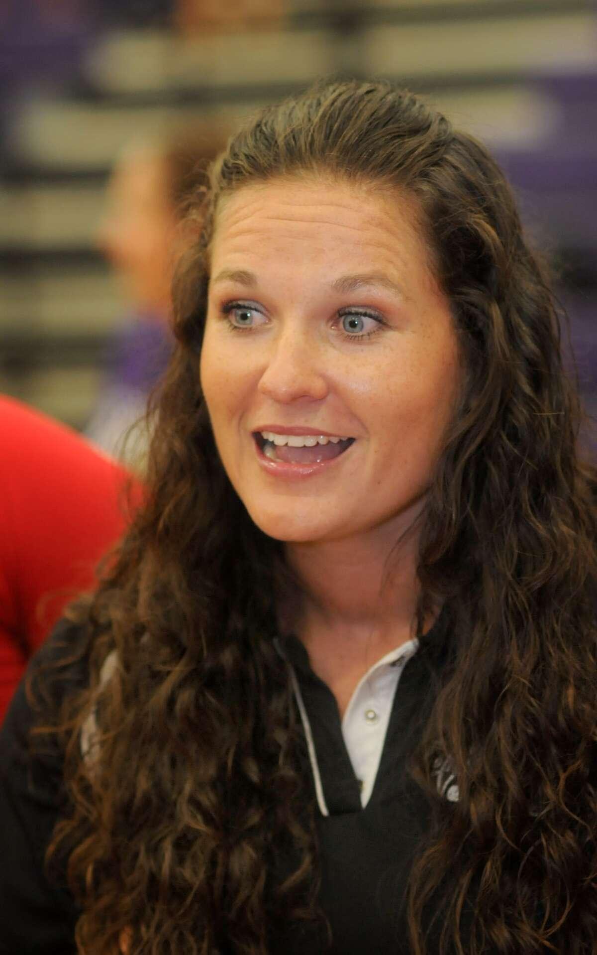 Oak Ridge Head Volleyball Coach Tommie Lynne Sledge (photo by Jerry Baker)