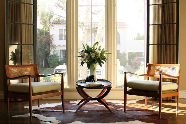 California English was tasked with redesigning and furnishing a ground floor apartment within this Spanish Colonia Revival in Los Angeles' Hancock Park.