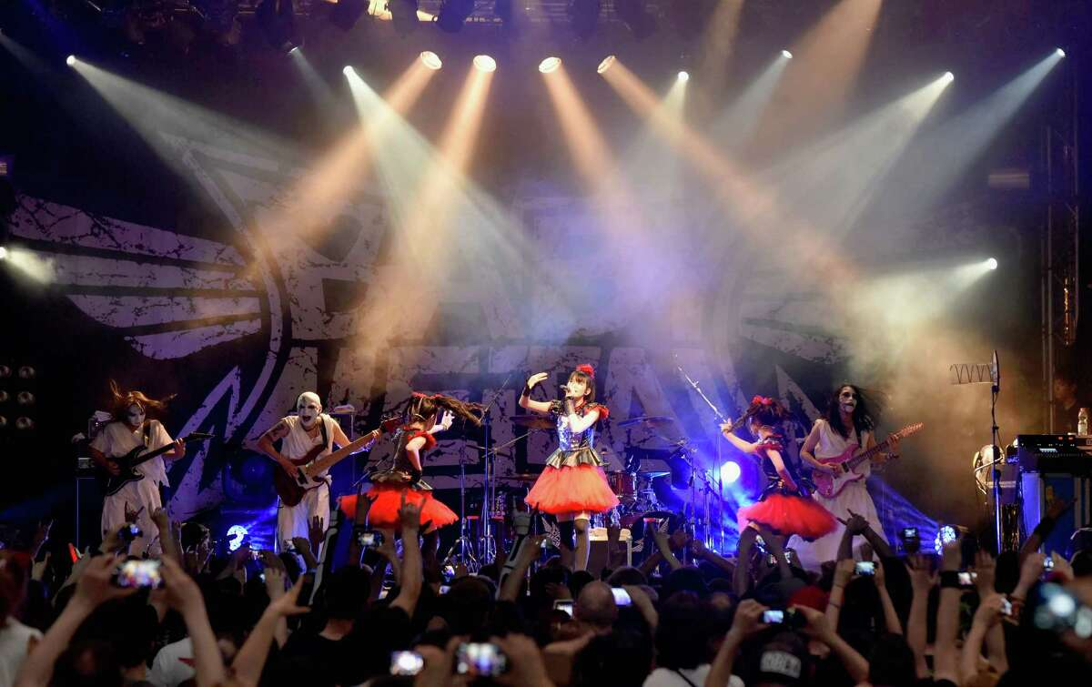 Babymetal in Bologna, Italy.