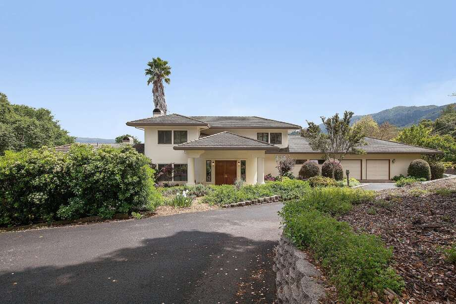 3107 Warm Springs Road in Glen Ellen is a light-filled three bedroom with more than 4,200 square feet of living space.