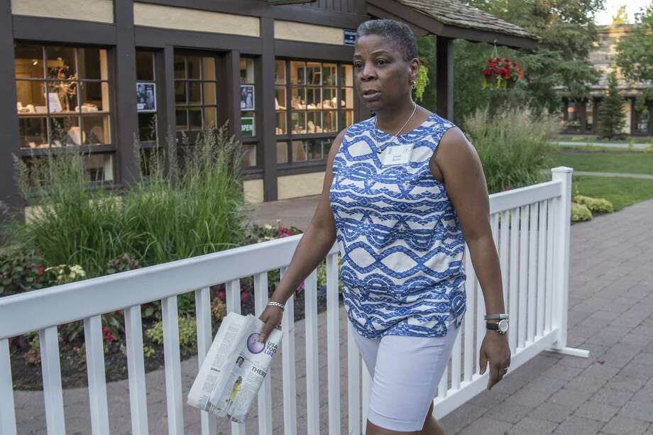 Xerox CEO Ursula Burns on July 8, 2016 in Sun Valley, Idaho, where she attended the Allen & Co. Media and Technology Conference. On Monday, July 11, 2016, Bloomberg reported Xerox is in early talks to merge with print and digital giant R.R. Donnelley. Photographer: David Paul Morris/Bloomberg Photo: David Paul Morris / Bloomberg / © 2016 Bloomberg Finance LP