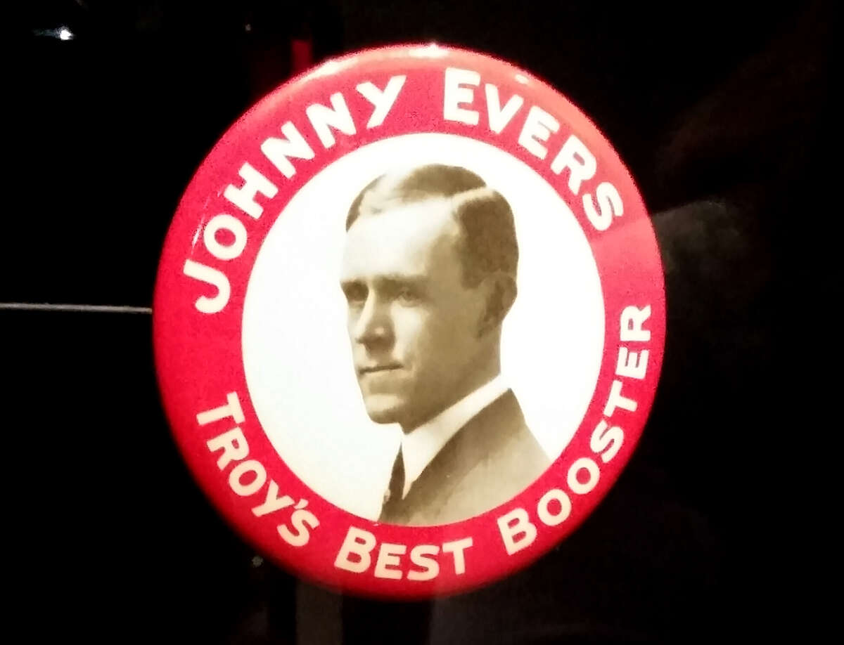 Born here: Johnny Evers. The feisty second baseman was born in Troy in 1881 and immortalized in Cooperstown after 18 years in MLB, mostly with the Cubs.