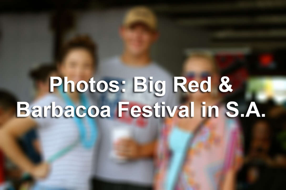 San Antonio loves three things: The Spurs and barbacoa and Big Red. That love for the later was on display Sunday, May 22, 2016, at the 6th Annual Barbacoa & Big Red Festival. Savory delicious tacos, frosty soda and live music all day - it's what all true South Texans deserves every weekend.