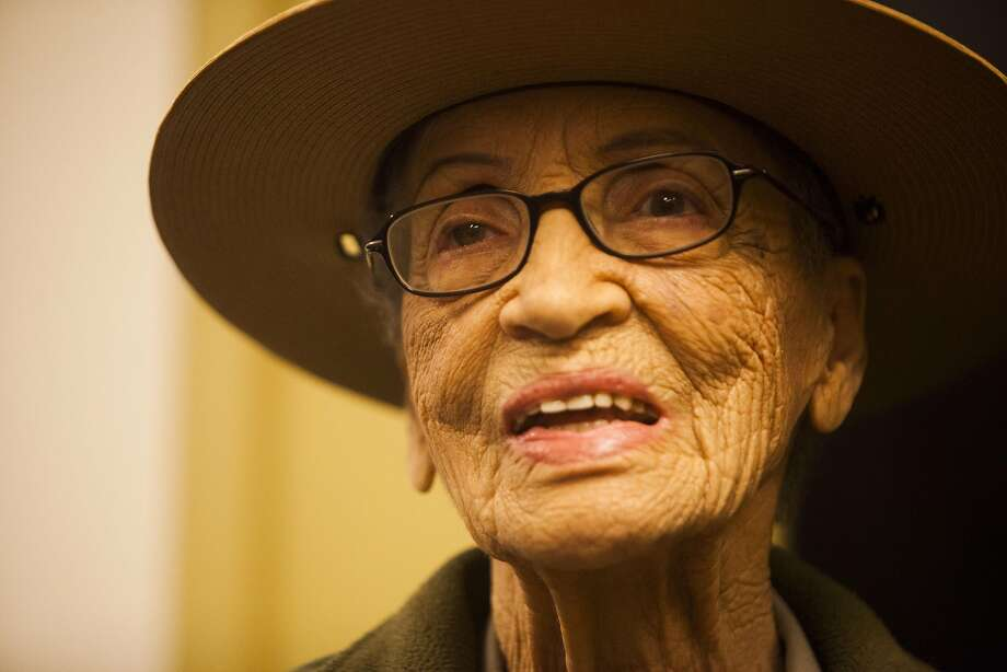 Betty Reid Soskin, 94, on Tuesday, July 12, 2016 at the Rosie the Riveter visitor center in Richmond, California. Photo: Michael Noble Jr., The Chronicle