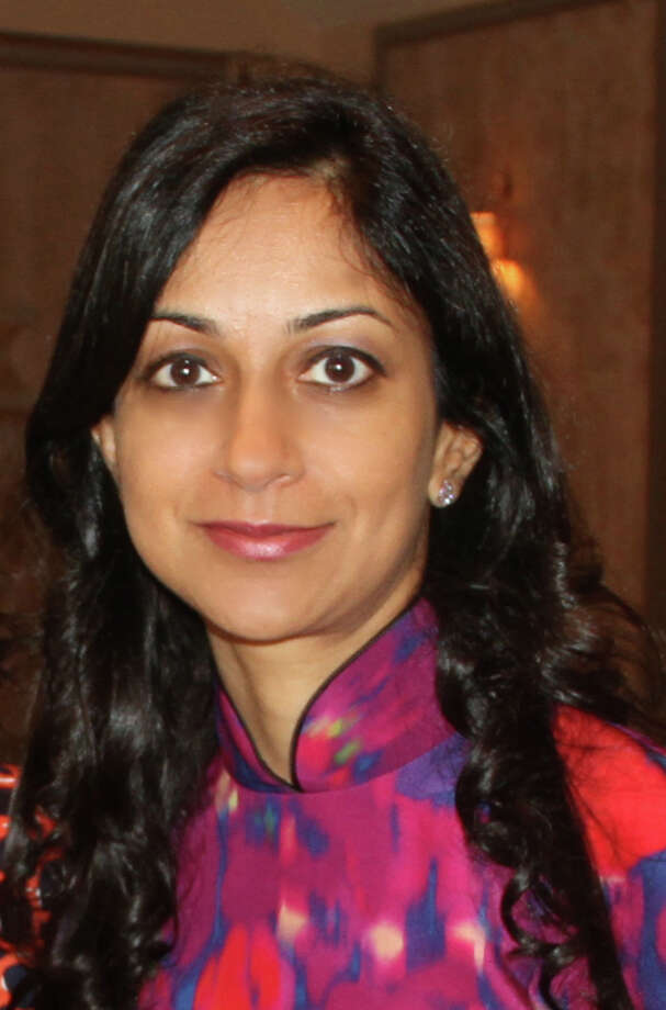 Cos Cob Democrat Dita Bhargava who is challenging State Rep. Fred Camillo in November 2016 Photo: Contributed / Contributed Photo / Greenwich Time Contributed