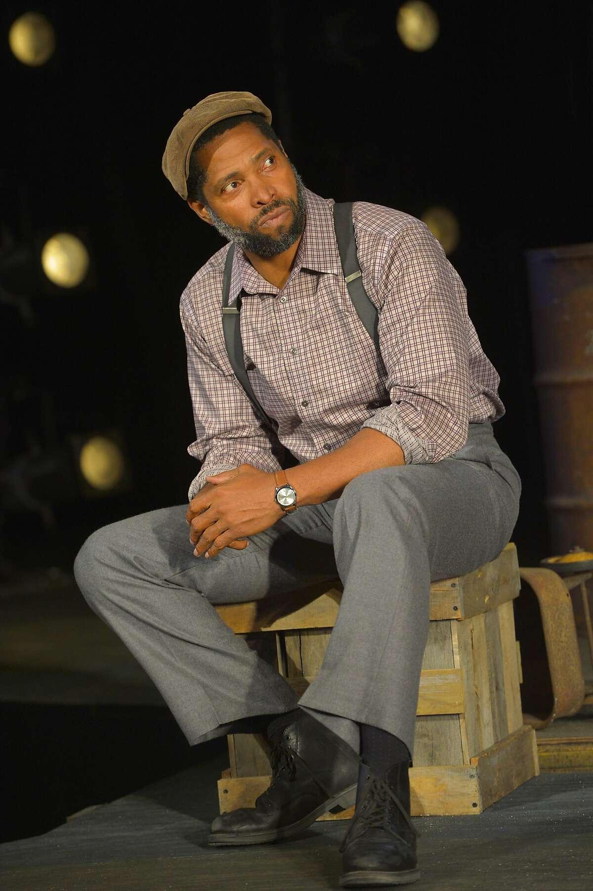 Aldo Billingslea as Troy Maxson.