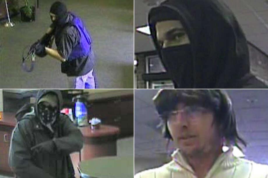 Take a look at Washington bank robbers sought by the FBI. Photo: FBI