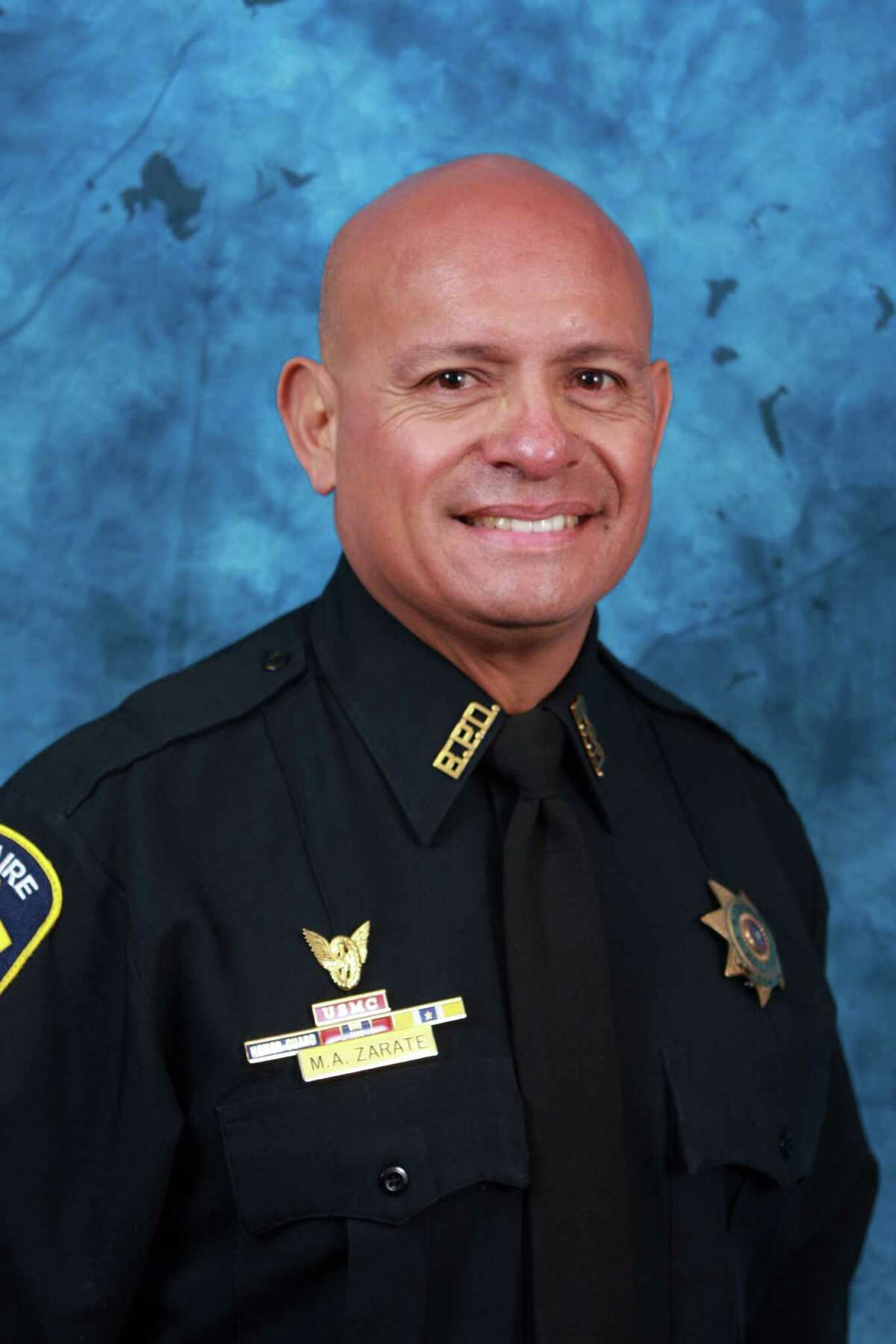 Bellaire police Officer Anthony Marco Zarate, 52, died of his injuries from a motorcycle crash on Tuesday.