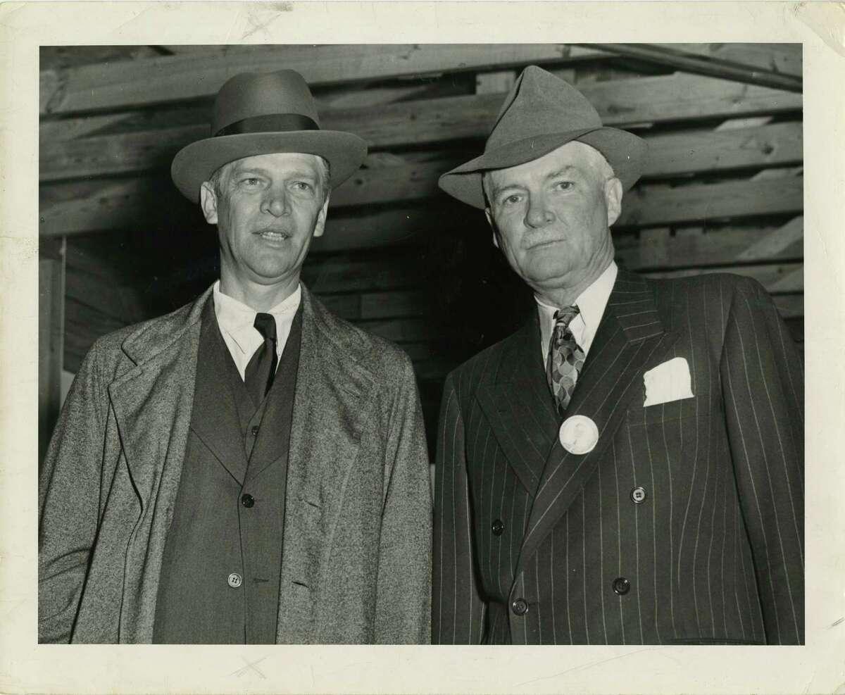 UNDATED - (L-R) George R. Brown and Herman Brown - philanthropists and businessmen; Brown & Root executivesUNDATED - (L-R) George R. Brown and Herman Brown - philanthropists and businessmen; Brown & Root executives