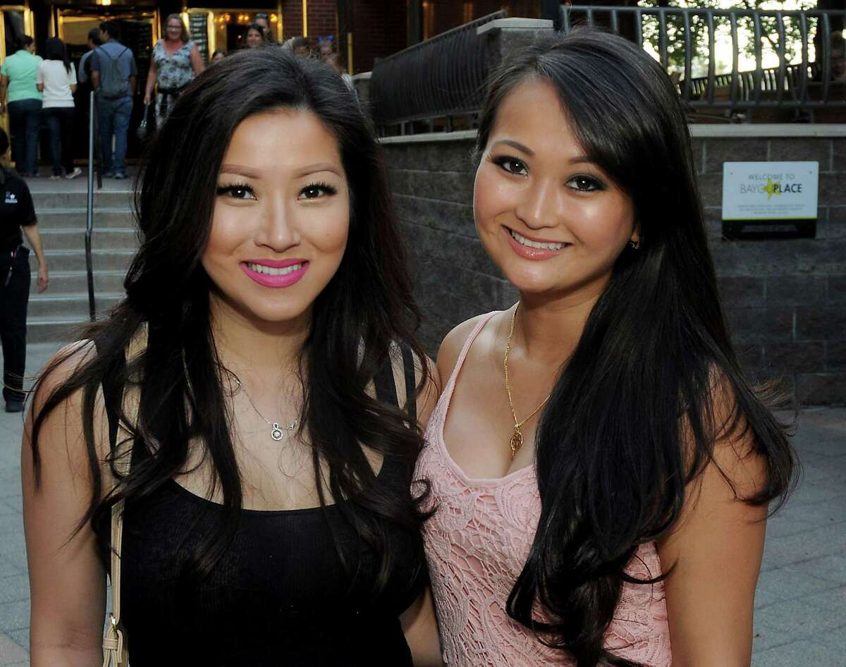 Fans at the MY2K Tour featuring O-Town, 98 Degrees, Dream and Ryan Cabrera at Revention Music Center on Tuesday.