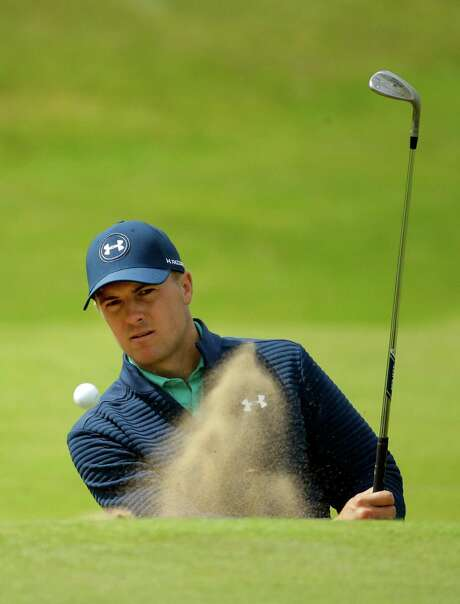 "Jordan Spieth is intent on holding the claret jug: ""I crave to have that trophy in my possession at some point."" Photo: Matt Dunham, STF / Copyright 2016 The Associated Press. All rights reserved. This material may not be published, broadcast, rewritten or redistribu"