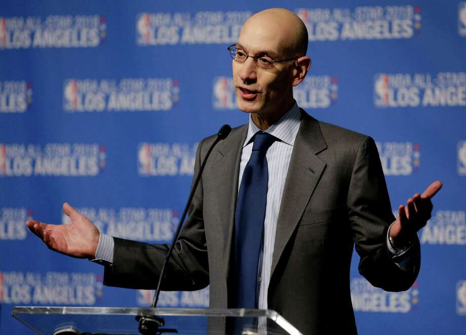 "NBA commissioner Adam Silver says the NBA has been ""crystal clear"" that it won't hold All-Star events in Charlotte if the law remains unchanged. Photo: Chris Carlson, STF / Copyright 2016 The Associated Press. All rights reserved. This material may not be published, broadcast, rewritten or redistribu"