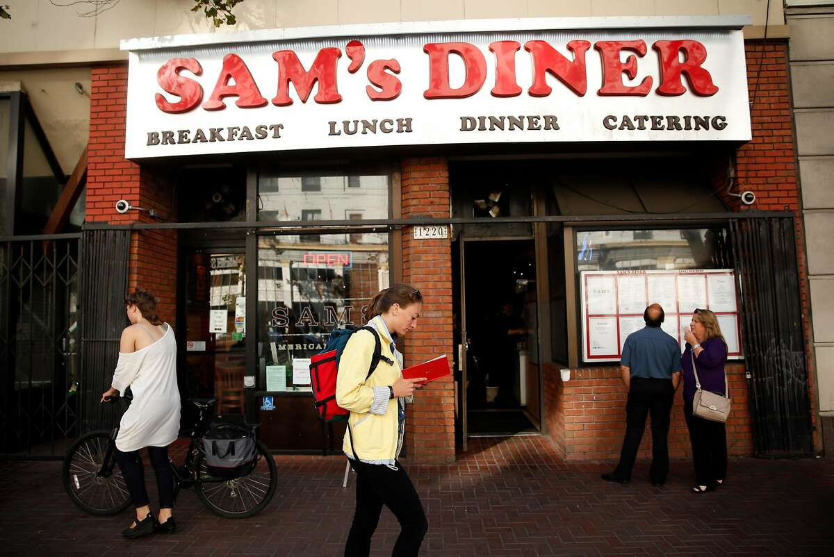 Sam's Diner (1220 Market) in the Mid-Market area of San Francisco, Calif., on Tuesday, July 12, 2016.